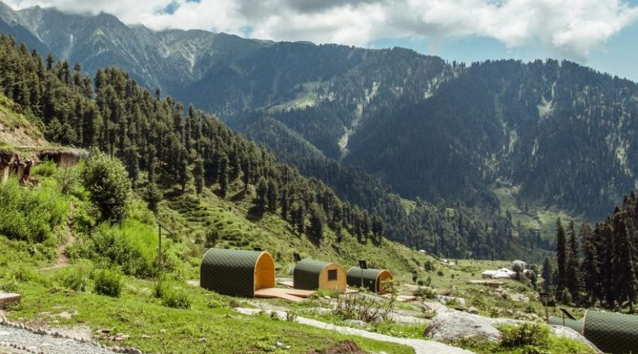 United Nations Development Program Use Camping Pods