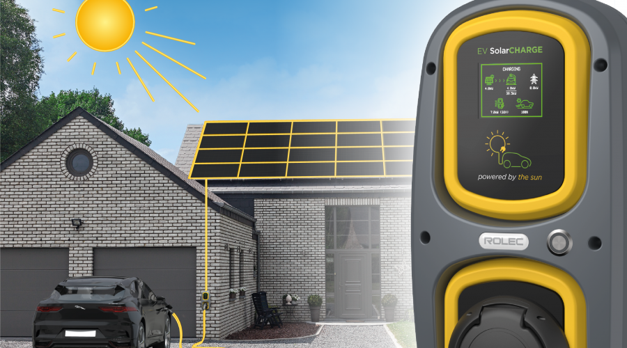 ROLEC EV LAUNCH NEW SOLAR EV CHARGING UNIT