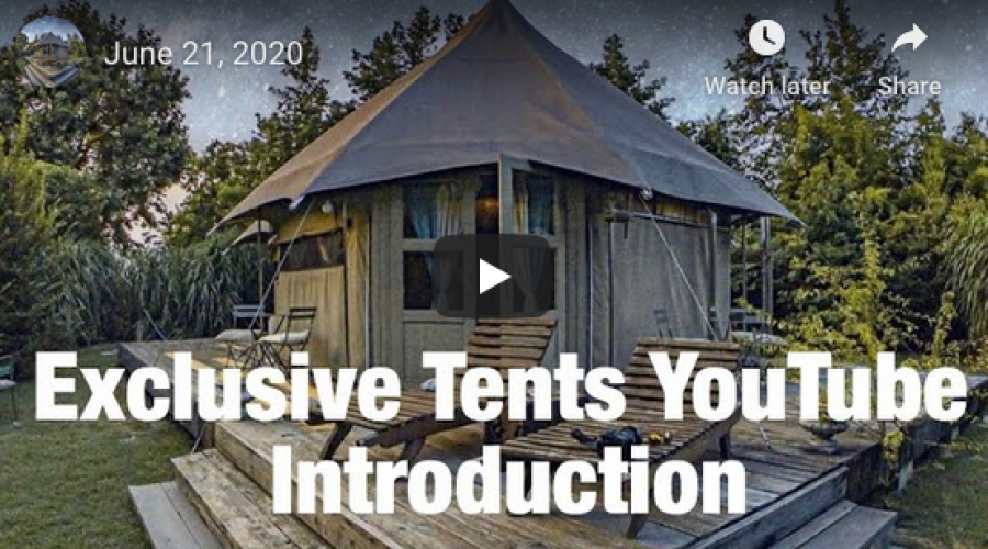 Exclusive Tents Talk Business